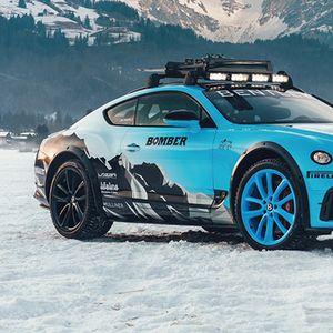 Bentley ќе се трка на мраз со специјален Continental GT
