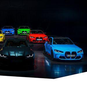 BMW ги претстави Individual боите за новите М3 и М4