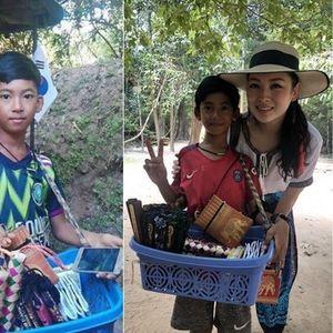 Момче од Камбоџа научило 10 јазици за да им продава сувенири на туристите (видео)