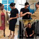 Меган Маркл со огромното трудничко стомаче делеше модни совети во добротворни цели