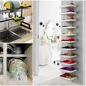 Генијални решенија за организирање на просторот и паметно складирање во домот