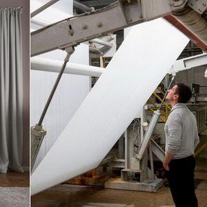 Иновација од ИКЕА - Завеси кои го прочистуваат воздухот дома