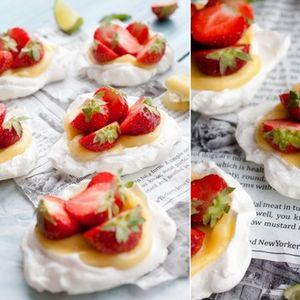Мини Павлови тортички со јаготки - слатко уживање на кое нема да одолее никој