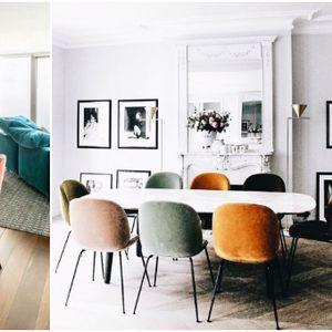 Како да комбинирате столици со различен стил и боја за трпезариска маса? (фото)