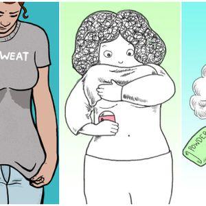 Дали е штетно, кои се последиците и како да се справите со потењето под градите?
