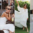 Ништо не вели лето како совршен, бел фустан