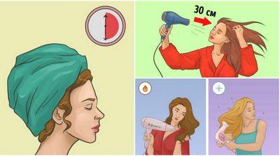 Ја држите долго во крпа, фенот е преблиску до главата: Грешки кои ги правите при сушење на косата