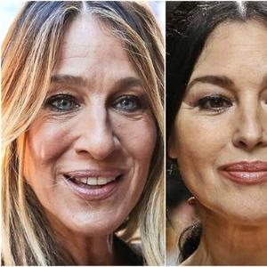Какви се одблизу лицата на познатите дами кои не користат ботокс?