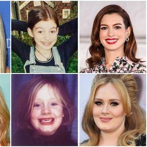 """Познати убавици кои во младоста биле """"грди пајчиња"""""""