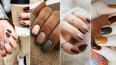 Разнобојни маникири во боите на есента - каков ќе одберете вие?