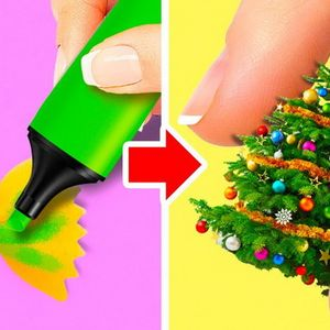 Видео туторијали како да изработите евтини новогодишни украси