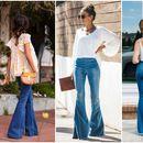 Пролетни, елегантни комбинации со фармерки-ѕвонарки