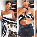 Камила Коелјо открива 3 начини како да ја носите марамата ова лето (видео)