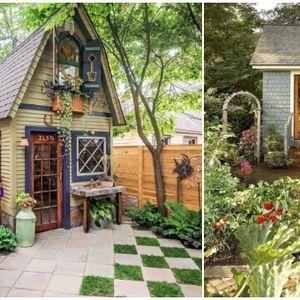 Мали куќички со дворче во кои би сакале да го поминеме летово