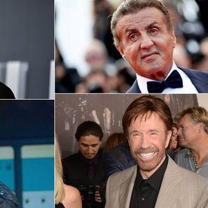 Чак Норис и Силвестер Сталоне се на врвот – актери коишто ретко умираат во филмовите