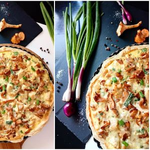Може да се јаде ладна и топла: Вкусна солена пита со печурки и пилешко од која ќе излижете прсти