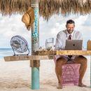 """Дали е ова најубавата """"канцеларија"""" на светот - Аруба, плажа, тиркизно море, сонце...?"""