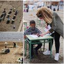 Фото на денот: Ученици во Шпанија имаат настава на плажа – децата се пресреќни