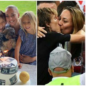 Семејството на фудбалерот Лука Модриќ - На 19 години ја освоил 5 години повозрасната Вања од Загреб, имаат 3 деца