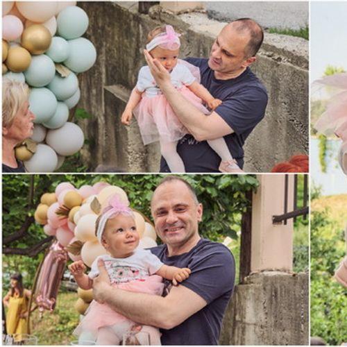 Министерот Венко Филипче на роденден кај ќеркичката на Јасмина Василковска, жената чии срце и бубрези спасија три човечки животи
