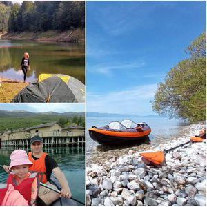 Од Матка до Охридското Езеро – семејство со кајак ја истражува Македонија