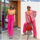 Предлог комбинации во розова и портокалова боја - идеални за летната сезона