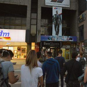 Užice: Pritvor zbog gađanja banera sa likom Vučića