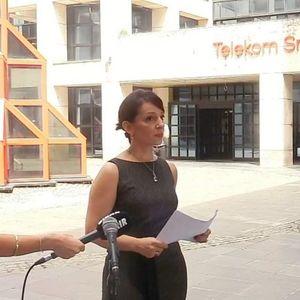 Službenik Telekoma prekinuo konferenciju za novinare Marinike Tepić