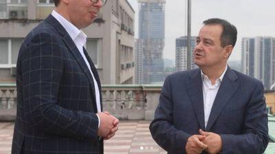 """Podrškom Vučićevoj trci za novi mandat Dačić """"zaslužio"""" jutarnji prijem"""