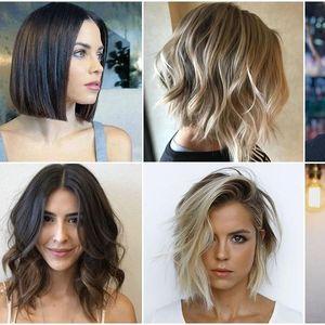 Супер фризури за средна должина на косата!