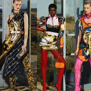 Дивиот запад во колекцијата на Versace Resort 2020!