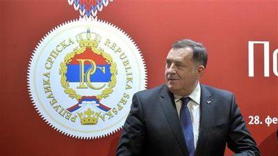 Dodik: Poziv Komšića Rusonu je zabijanje glave u pesak