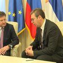 Vučić u sredu sa Lajčakom u Beogradu