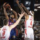 EL: Zvezda odlična, Barselona tek u finišu stigla do pobede