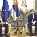 Predsednik Vučić se sastao sa Lajčakom