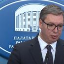 Vučić poručio Srbima u CG: Uz vas smo, glavu gore!