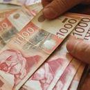 Kurs dinara u petak 117,5576
