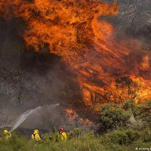 Фотографија на денот: Огнен пекол во Калифорнија