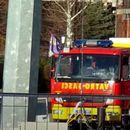 VATRA KULJA NA ZVEZDARI! Ceo autobus je u plamenu, intervencija u toku