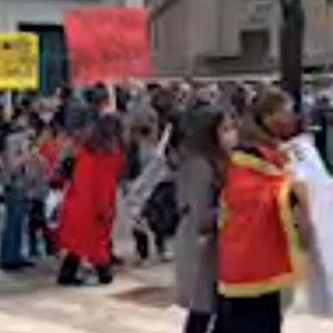 """KOPRIVICA: """"Spontani"""" skup pretvorio se u """"rušilačku, huligansku akciju proboja u državne prostorije"""" (FOTO/VIDEO)"""