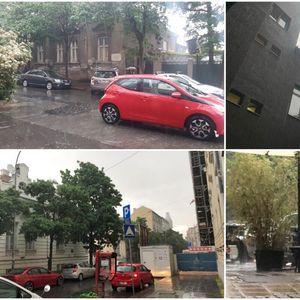OLUJA U BEOGRADU! Sastavili se nebo i zemlja, pada kiša, duva vetar, ljudi se sklonili sa ulica