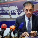 VEŠALA ZA PUPOVCA! Nove zastrašujuće pretnje srpskom poslaniku osvanule na zidu u Zagrebu