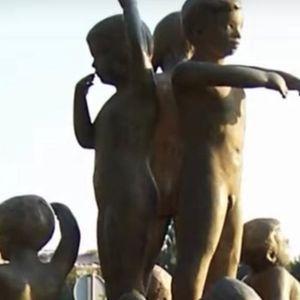 MESAR LUBURIĆ PRETIO SMRĆU ONIMA KOJI SU HTELI DA UBLAŽE PATNJE SRPSKE DECE: Priča iza spomenika u Sisku je STRAŠNA