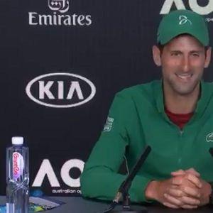 MORAĆU DA PORADIM S NJIM NA TOME! Hit odgovor Novaka Đokovića koji je omiljeni teniser njegovog sina Stefana!