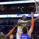 U BOSTONU SPEKTAKL SA 2 BISA: Zajon u istoriji, ali Pelikansi bez pobede! Centar pogodio trojku s pola na lud način