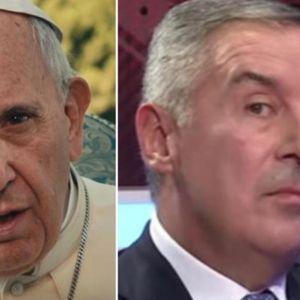 NAJJAČI UDARAC MILU ĐUKANOVIĆU UPRAVO JE STIGAO OD VATIKANA: Papa je doneo ODLUKU!