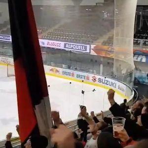 NAVIJAČI AJNTRAHTA ODUŠEVILI EVROPU: Umesto na fudbal, otišli na hokej i napravili atmosferu za pamćenje!