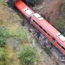 VELIKA DRAMA U SRBIJI! Voz koji je prevozio amonijak izleteo iz šina!
