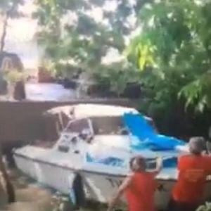 HOROR SCENA NA DUNAVU: Pogledajte kako je BROD udario u čamce i RAZNEO ih!