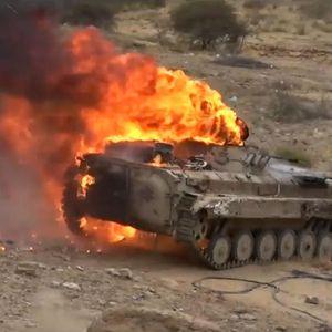 ROBOT ISPALIO RAKETE, ŠTA SE OVO DEŠAVA? Amerikanci pogodili ruski tenk T-72!